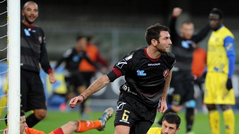 Fabio Lucioni: Netted a famous winner for Reggina