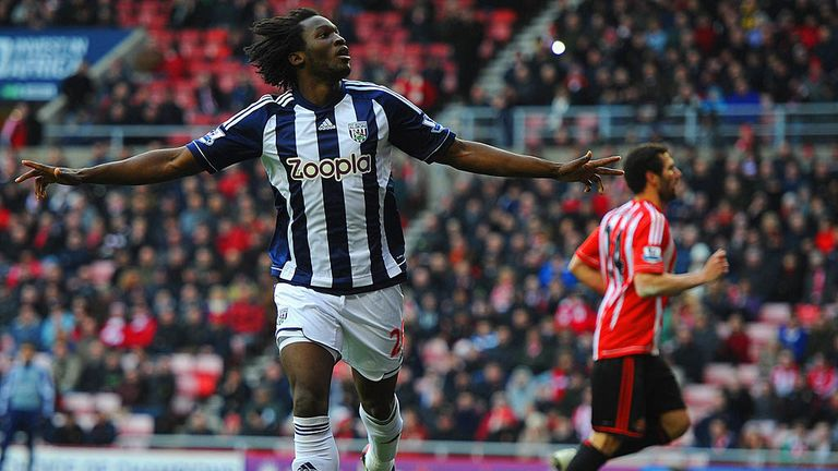 Lukaku: Scored his fourth West Brom goal in last weekend's win at Sunderland