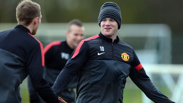 Wayne Rooney: Recovered from tonsillitis