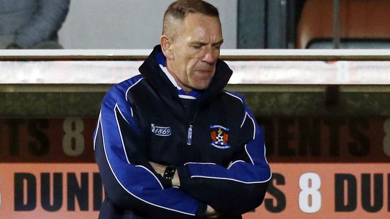 Kenny Shiels: Problems mounting for the Kilmarnock boss