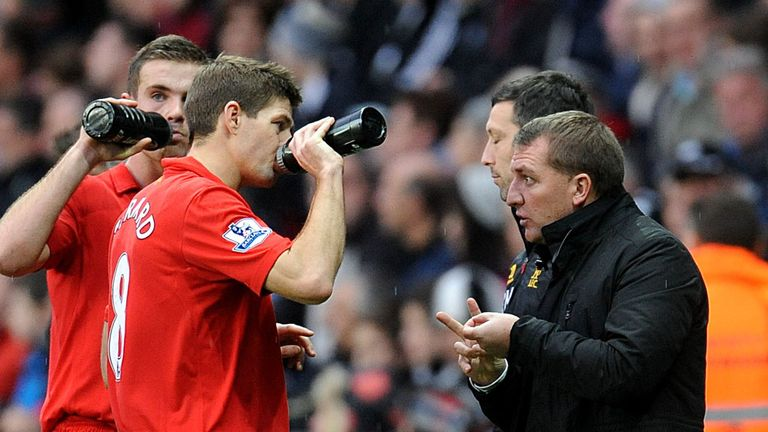 Steven Gerrard: Still inspirational, according to Brendan Rodgers