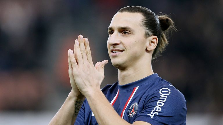 Zlatan Ibrahimovic: Will wear number 10 shirt for PSG
