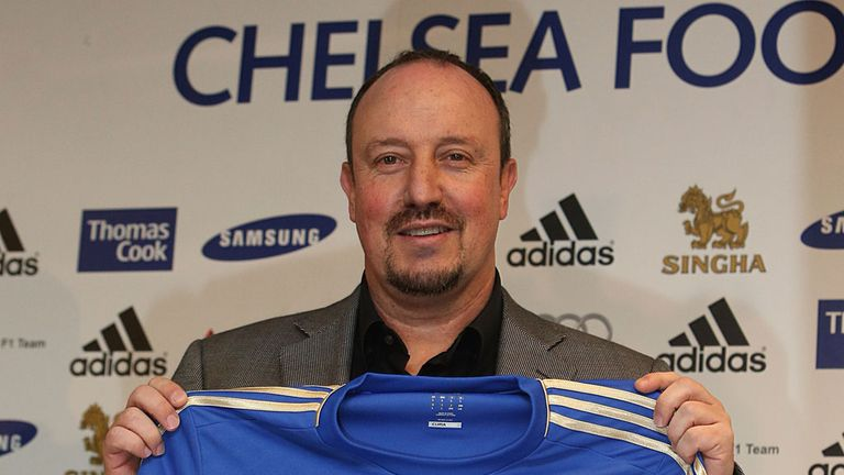 Benitez: will he be smiling on Sunday?