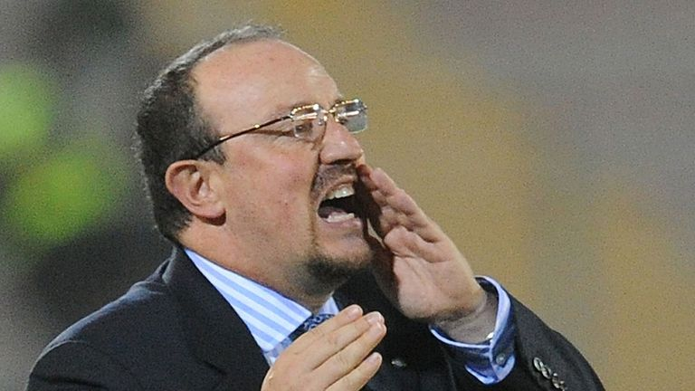 Rafa Benitez: appointed as interim boss the same day Roberto Di Matteo was sacked