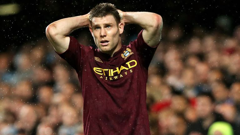 James Milner: Manchester City assessing midfielder's hamstring injury
