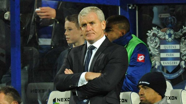 Mark Hughes: Remains as QPR manager after another day of rumours