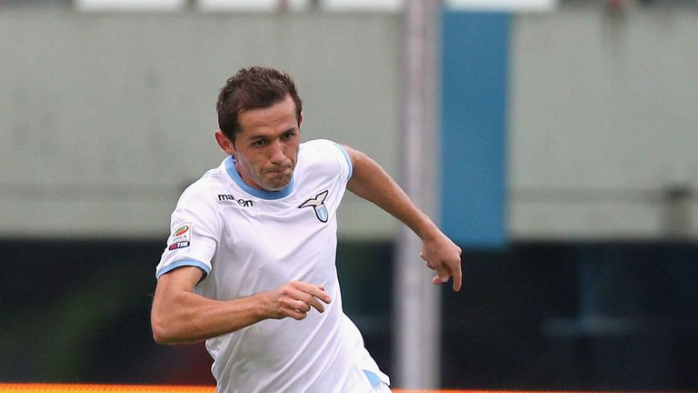 Senad Lulic: Lazio's Coppa Italia hero has been linked with Chelsea and Juventus