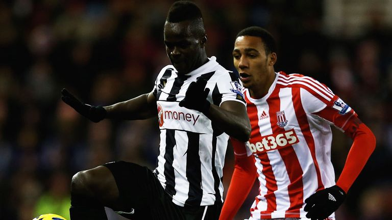 Cheick Tiote: Upset by the manner of Newcastle's 2-1 defeat at Stoke