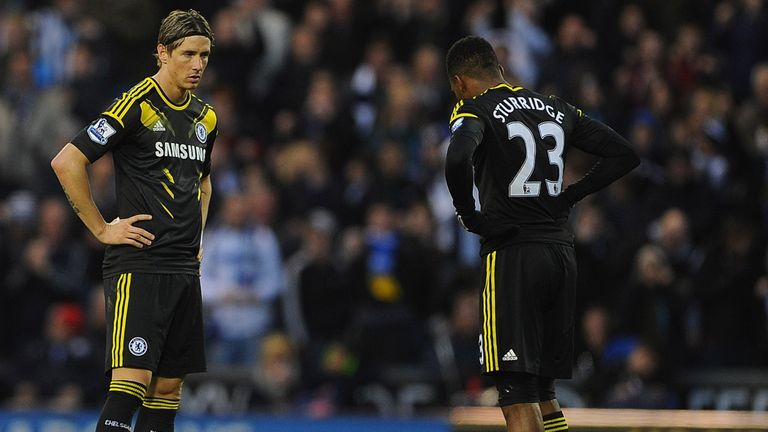 Fernando Torres and Daniel Sturridge: Battling for selection