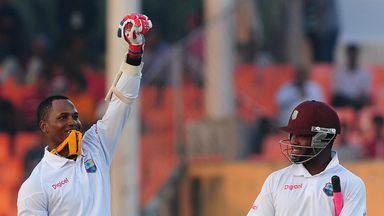 Marlon Samuels: Jamaican fell late on day three for 260