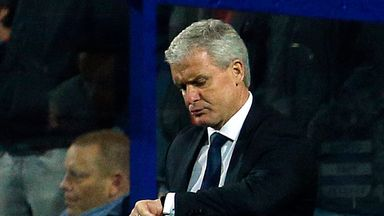 Mark Hughes: Under pressure after woeful run of results with QPR
