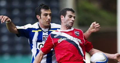 Stuart Kettlewell (r): Misses the Highland derby