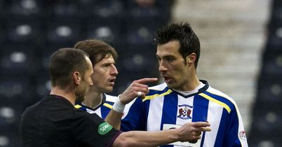 Manuel Pascali: Suspended for Killie