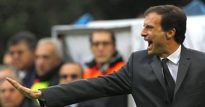 Massimiliano Allegri: Backed by Galliani