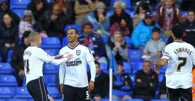 DJ Campbell: Has scored three times in five games for Ipswich
