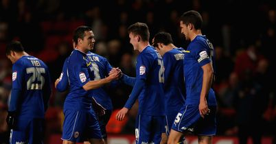 Cardiff: Up to second in Championship