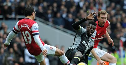 Emmanuel Adebayor: Ruined the game for Spurs