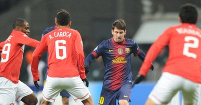 Lionel Messi: Barcelona ace scored twice against Spartak Moscow