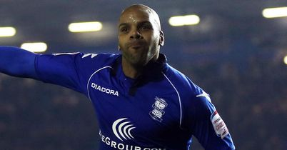 Marlon King: Celebrates his first goal on Friday night