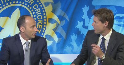 Nasser and Knight: Impressed with England
