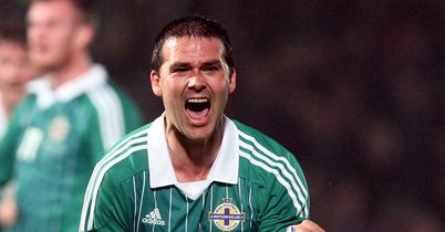 David Healy: The striker came to Northern Ireland's rescue with a stoppage time equaliser