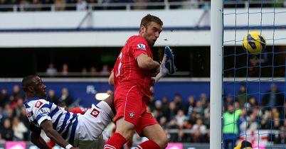 Rickie Lambert: Heads in Southampton's opening goal