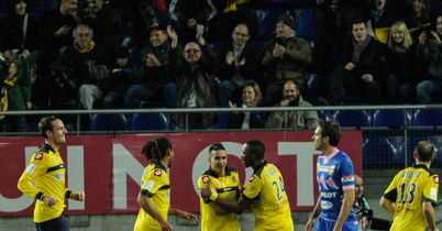 Sochaux: Celebrate against Evian