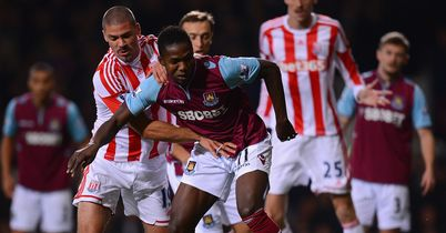 Modibo Maiga: Closed down by Jon Walters