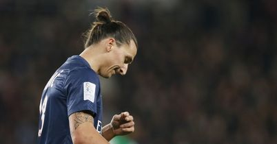 Zlatan Ibrahimovic: Absent for Paris Saint-Germain
