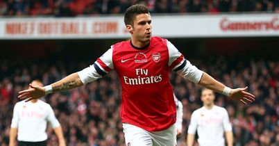 Olivier Giroud: Missed the Wigan game due to illness