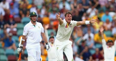 James Pattinson: Australia fast bowler took five wickets during the draw in Brisbane