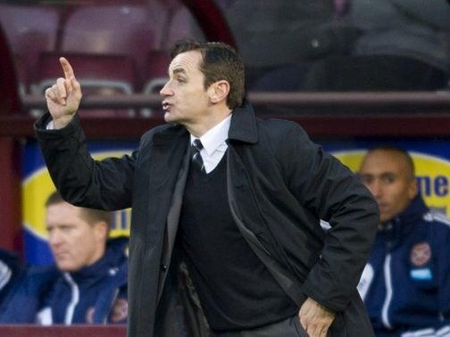 Danny Lennon: Buoyed by Celtic&#39;s inconsistency