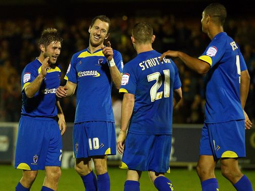 AFC Wimbledon: Backed to win at Morecambe