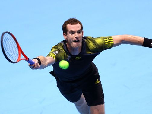 Andy Murray: Winning start at the O2 Arena