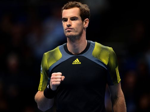 Andy Murray: Faces Federer in the last four on Sunday