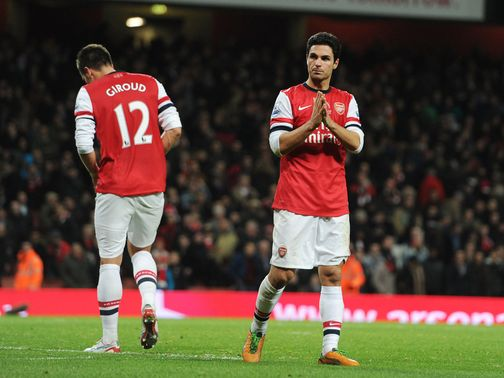 Mikel Arteta: Determined to help Arsenal recover
