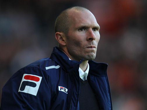 Michael Appleton: Relieved to be off the mark