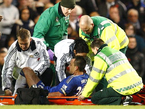 John Terry: Injury fear