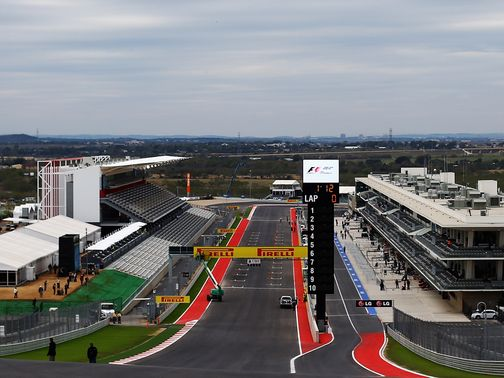 Date clash: The Circuit of The Americas