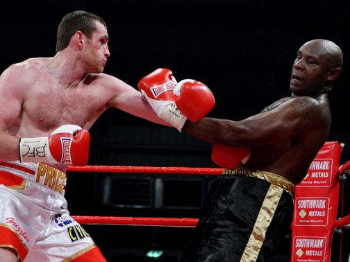 David Price beat Matt Skelton on Friday night.