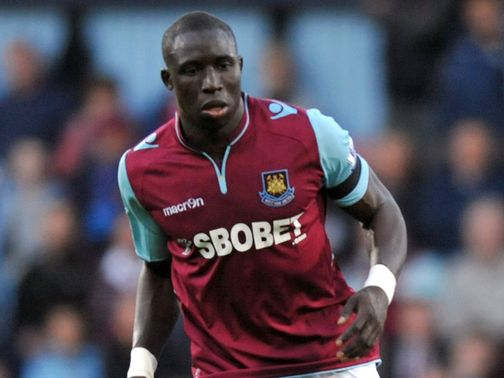Diame is happy at Upton Park