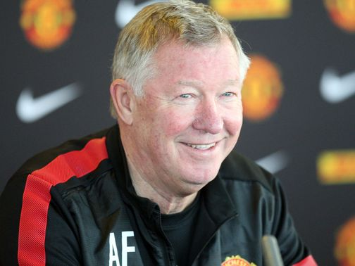 Sir Alex Ferguson: Prepares for the game against Reading