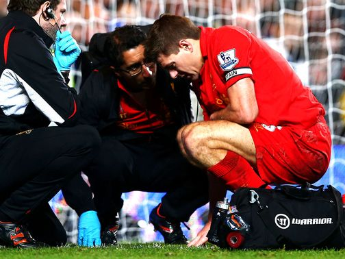 Steven Gerrard: Needs precautionary scan