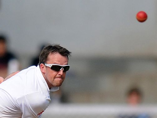 Swann: Expects a tough test against India