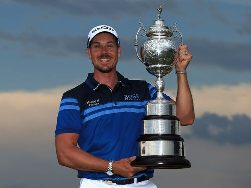 Henrik Stenson: South African Open success