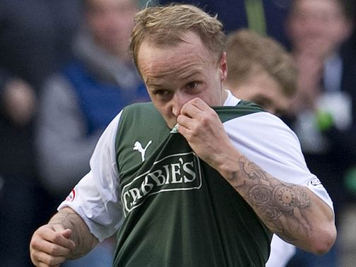 Leigh Griffiths: In superb goalscoring form in the SPL
