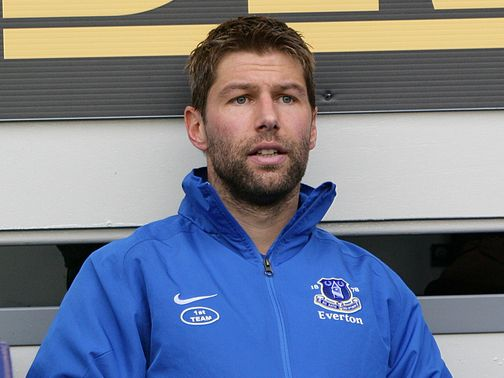 Hitzlsperger: Joined Everton in October