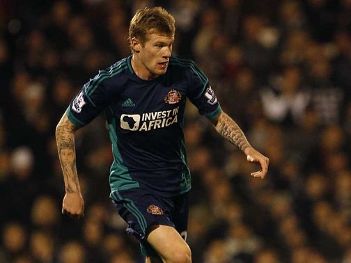 McClean is a major doubt for Sunderland