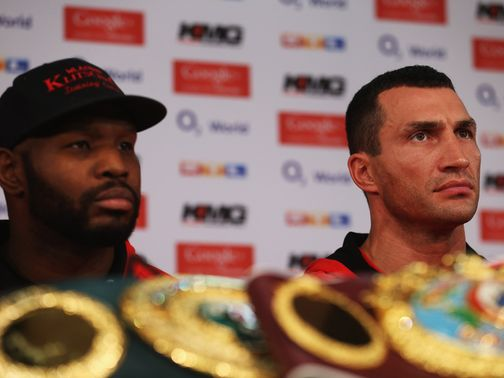 Johnathon Banks (l): Will train Wladimir Klitschko