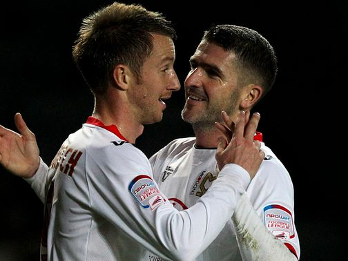 MK Dons: Set up second round tie with Wimbledon